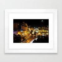Spinola Bay, Malta Framed Art Print