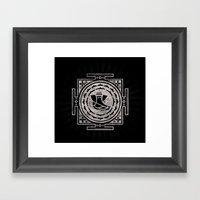 Ganesh Sun Framed Art Print