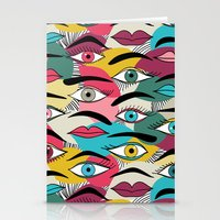 Eye, EyeBrow Stationery Cards