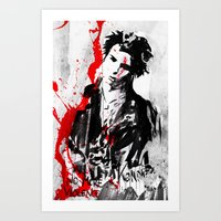 No More Violence! Art Print