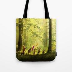 Secret Parade Tote Bag