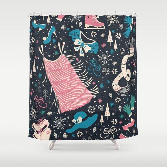 Frou Frou Shower Curtain