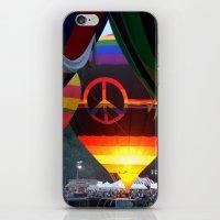 The Glow of Peace iPhone & iPod Skin