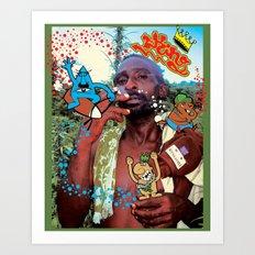 king paul Art Print