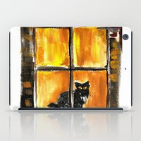 Looking out the Window iPad Case