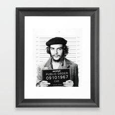 Public Order Che Guevara Framed Art Print