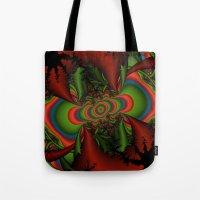 Psychedelic Seizure Tote Bag