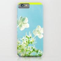Retro tint Hydrangea iPhone 6 Slim Case