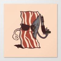 The Baconator Canvas Print