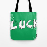 Luck. Tote Bag