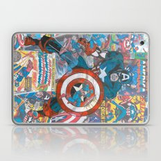 Vintage Comic Capt America Laptop & iPad Skin