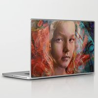 alice in wonderland Laptop & iPad Skins featuring Alice in wonderland by Ganech joe