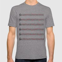 Love Music Mens Fitted Tee Tri-Grey SMALL