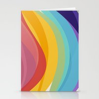 Fig. 045 Colorful Swirls Stationery Cards