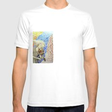 Se oye con los ojos Mens Fitted Tee SMALL White