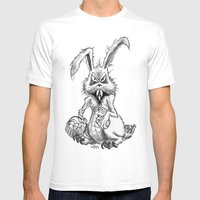 Easter Evil Mens Fitted Tee White SMALL