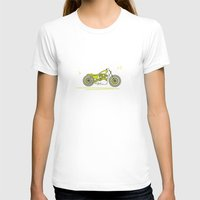 bike T-shirts featuring Bike by Daniella Gallistl