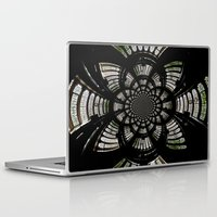 fractal Laptop & iPad Skins featuring Fractal by Aaron Carberry