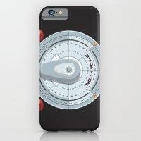 iPhone & iPod Case featuring Enterprise - Star Trek by Alex Patterson AKA frigopie76