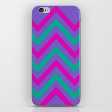 Chevron Berry Blast iPhone & iPod Skin