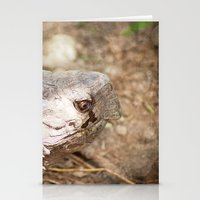 Even Turtles Cry Stationery Cards