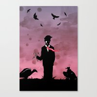Forever Alone Canvas Print