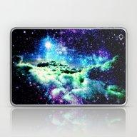 Galaxy Clouds Laptop & iPad Skin