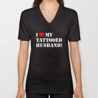 Tattooed Husband Unisex V-Neck