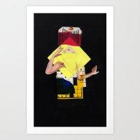 Queen 3 Art Print