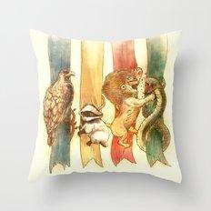House Brawl Throw Pillow