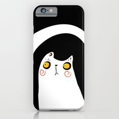 Dark Night White Cat Slim Case iPhone 6s