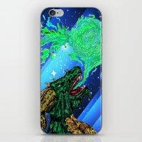 green dragon fire artist iPhone & iPod Skin