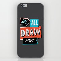 Draw, More iPhone & iPod Skin