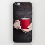 Red Mug iPhone & iPod Skin