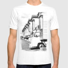 Volkswagen Van Mens Fitted Tee SMALL White