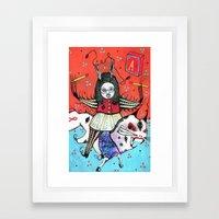 Pyroprince Framed Art Print