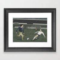 Matchday Framed Art Print