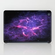 Pink Purple Crab Nebula iPad Case