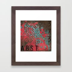 ABSTract 373. Framed Art Print