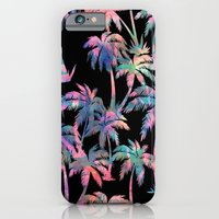 iPhone & iPod Case featuring Maui Palm {Black} by Schatzi Brown