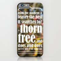 iPhone & iPod Case featuring the thorn birds by VALENTINA MAGRO