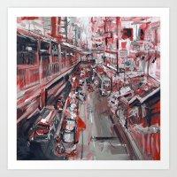 Street-804461.jpg Art Print