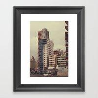 Buildings 2 Framed Art Print