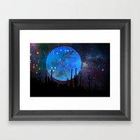 The Moon2 Framed Art Print