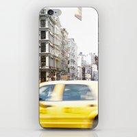 Yellow Cab iPhone & iPod Skin