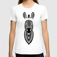 zebra T-shirts featuring Zebra by Art et Be