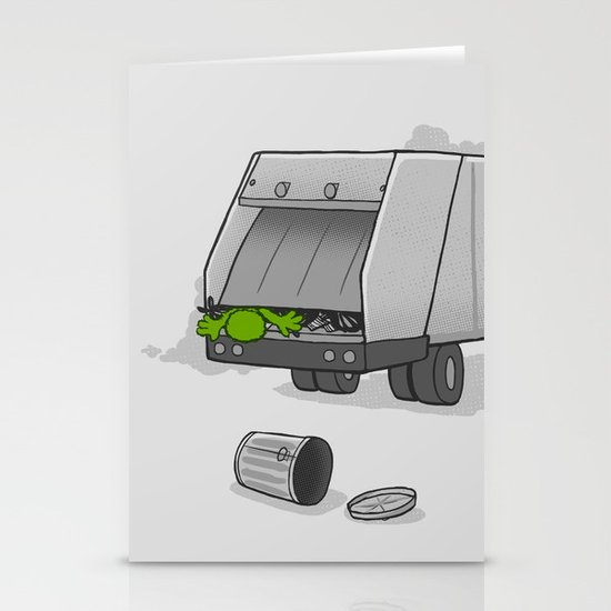 Accident on Sesame St.  Stationery Card