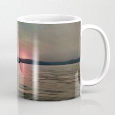 Sunset Shores In Pink And Grey Mug