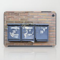 Mailboxes iPad Case