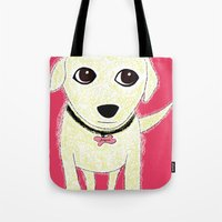 Bichon Bolognese Dog Tote Bag